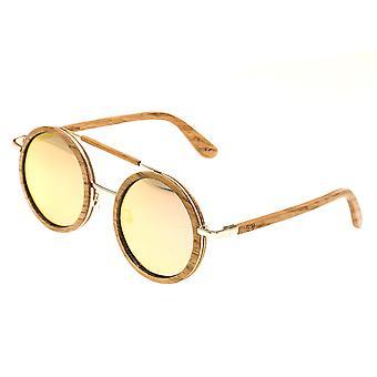 Earth Wood Bondi Polarized Sunglasses - Bamboo/Rose Gold