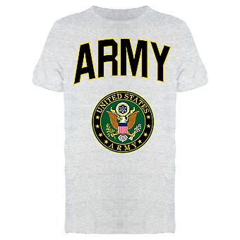 Army Lettering And Emblem Men's T-shirt