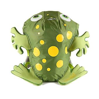 LittleLife Frog SwimPak Green Swimming Splash Resistant Kids Backpack 10 Litres