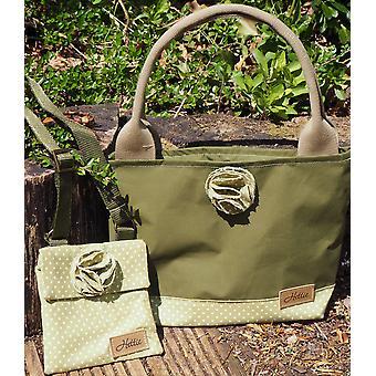 Imogen Children's handbag green spot