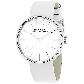 Marc Jacobs Women's Peggy White Dial Watch - MBM1361