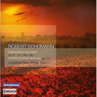R. Schumann - Robert Schumann: Romanzen & Balladen Op. 67, 75, 145, 146 [CD] USA import