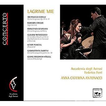 Corelli / Accademia Degli Astrusi / Ferri / Antona - Lagrime Mie [CD] USA import