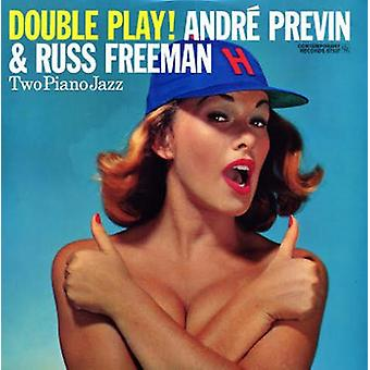 Andre Previn & Russ Freeman - Double Play! [Vinyl] USA import
