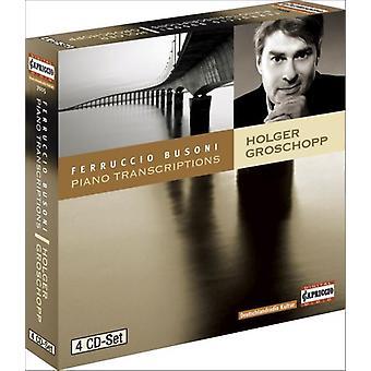 F. Busoni - Busoni: Piano Transcriptions [Box Set] [CD] USA import