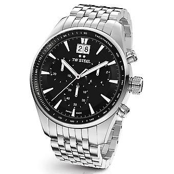 Montre TW Steel ACE311 antique Aternus Swiss Made chronograph mens watch 45 mm