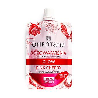 Natural Face Mask Glow Pink Cherry, 30 Ml