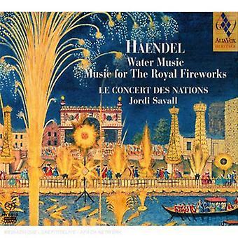 G.F. Handel - Handel: Water Music; Music for the Royal Fireworks [SACD] USA import