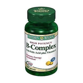 B-komplex (Vitamin B Complex) 100 tabletter