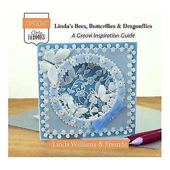 Claritystamp Linda's Abeilles, Papillons & Libellules: A Groovi Inspiration Guide