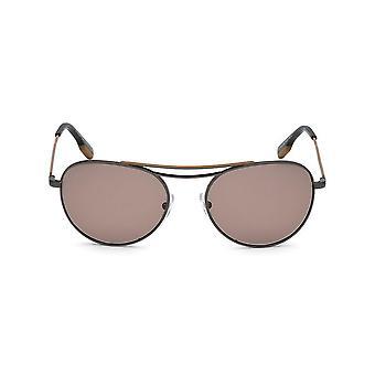 Ermenegildo Zegna - Accessories - Sunglasses - EZ0103_08E - Men - dimgray,tan