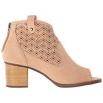 Dirty Laundry Womens Trixie Peep Toe Ankle Fashion Boots