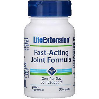 Estensione della vita, Formula congiunta ad azione rapida, 30 capsule