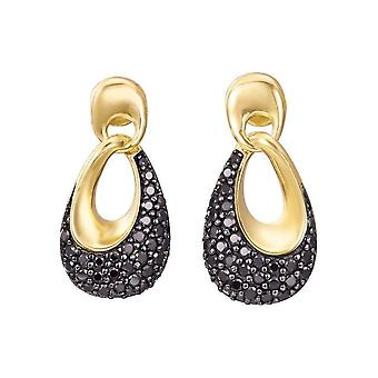 Esprit Ohrringe Medea Black Gold - ESER02598D000