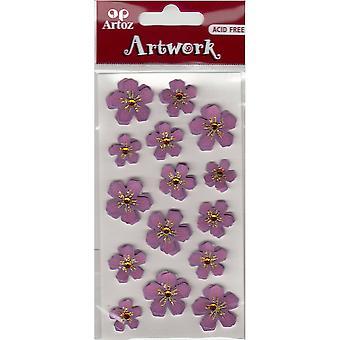 紫花工艺装饰由阿托斯