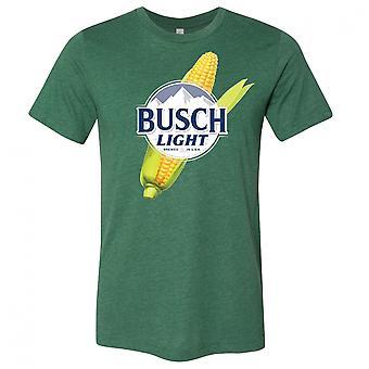 Busch Light Beer Corn Logo T-Shirt