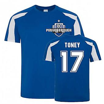 Ivan Toney Peterborough Sports Training Jersey (Blå)