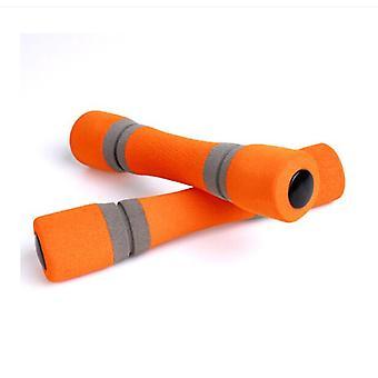 Ganvol 4 x Woman Yoga Dumbbells 0.5 kg, Anti Slip with Soft Grip 20.5 * 4.3 CM