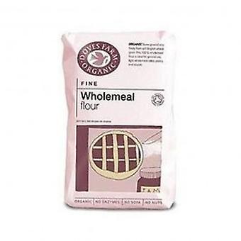 Doves Farm - Org Plain Fine W/Meal Flour 1000g