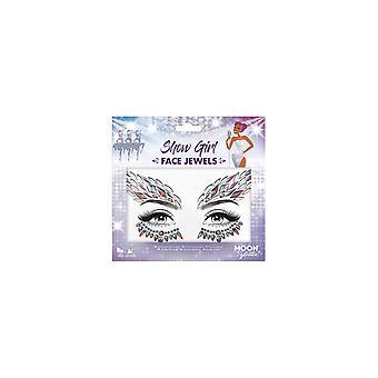 Smiffyăs Moon Glitter Face Jewels - Show Girl