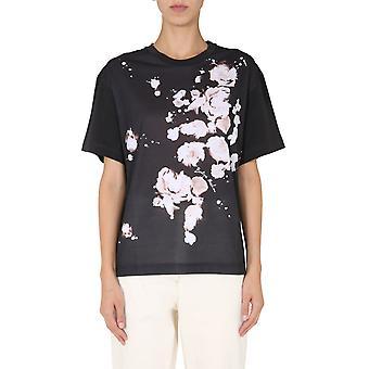 Boutique Moschino 120258401555 Women's Black Cotton T-shirt