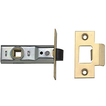 Yale M888 Rebated Mortice Latch 64mm 2.5in Polished Brass Visi