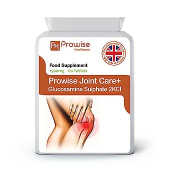 Joint Care+ (Glucosamine Sulphate 2KCl) 1500mg 60 Tablets | Made In UK
