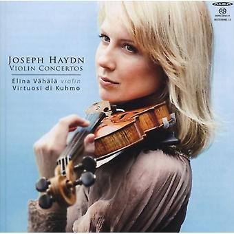 Haydn / Vahala / Virtuosi Di Kuhmo - viulu konsertot [SACD] USA tuonti