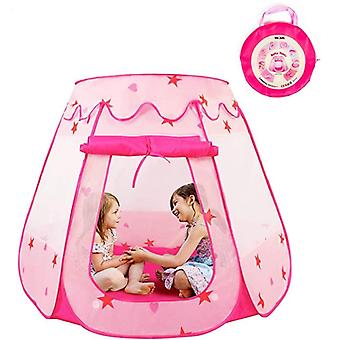 Princess Pop Up Tent For Toddlers And Girls (no Assembly Required), Foldable And Portable With A Carrying Bag