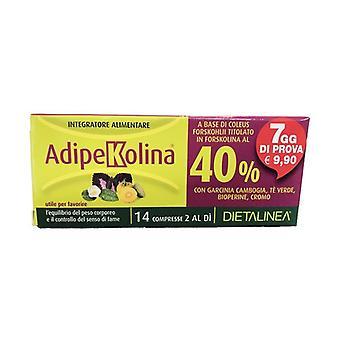 Adipekolina 7 Days 14 tablets
