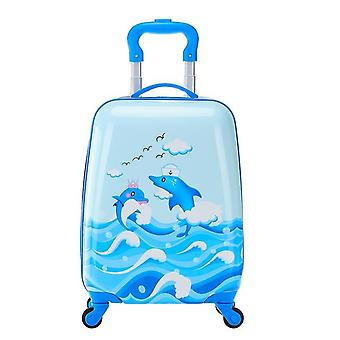 Cartoon Rolling Luggage Wheeled Bag Suitcase Carry-ons