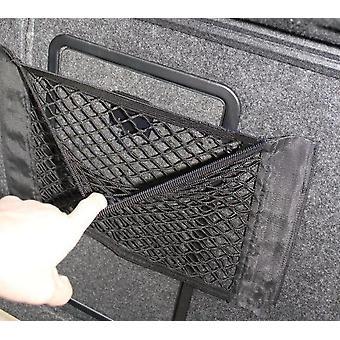 Bolsa malla Net Bag Coche estilo equipaje equipaje bolsillo pegatina Trunk Organizador