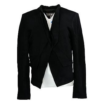 Elizabeth & Clarke Women's Suit Jacket/Blazer Ponte StainTech Black A368592