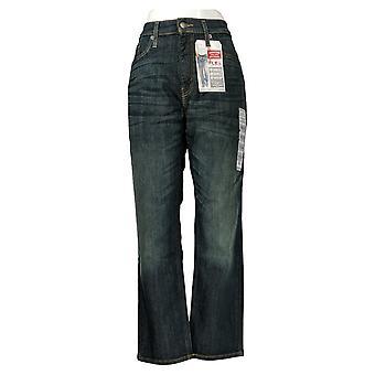 ليفي & apos;s الرجال & apos;ق الجينز المستقيم 32x30 الرمز البريدي يطير S67 الرياضية صالح W/جيوب الأزرق