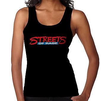 Sega Streets Of Rage Logo Women's Vest