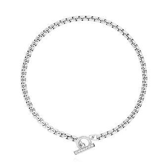 Joma smykker Halo Sølv T Bar 18cm armbånd 4524