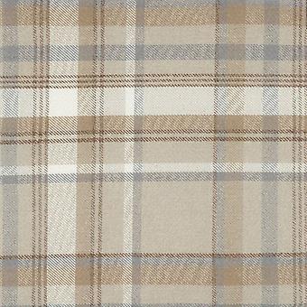 Mcalister textiles patrimoine tartan beige crème échantillon de tissu