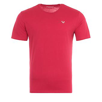 True Religion 2002 Logo T-Shirt - Red