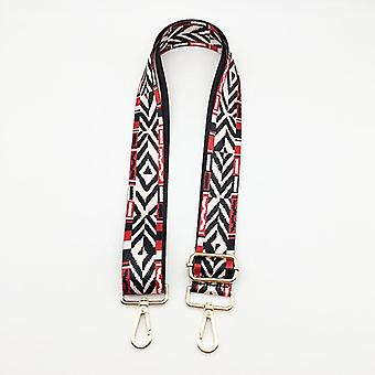 Woman Colored Straps/crossbody Shoulder Bag Accessories, Embroidered Belts