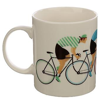Tazza in porcellana da collezione - lavori per biciclette
