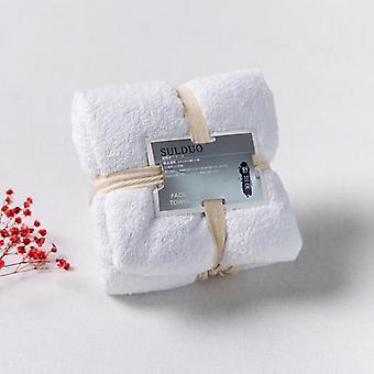 Multicolor Household Microfiber Solid Quickly Dry Bathroom Towel