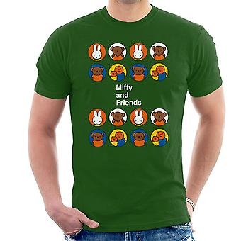 Miffy And Friends Men's T-Shirt