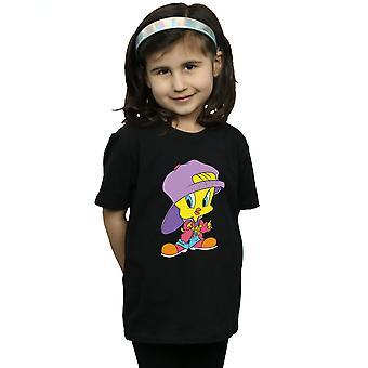 Looney Tunes Girls Tweety Pie Hip Hop T-paita