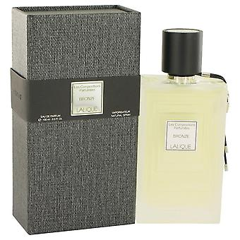 Les composiciones Parfumees bronce Eau De Parfum Spray por Lalique 3.3 oz Eau De Parfum Spray