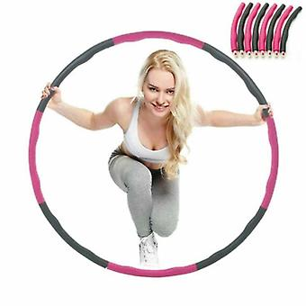 New Pro Hula Hoop Collapsible Fitness Workout Yoga Body Gym Abs Weighted 1 Kg