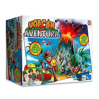 Board game volcán aventura imc toys (es)