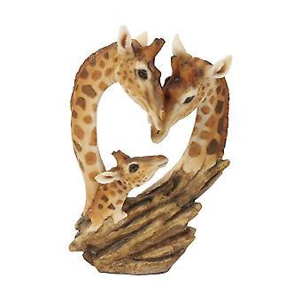 Widdop & Co. Nature Craft Resin Giraffe Family