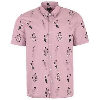 Edwin Nimes Short Sleeve Shirt - Woodrose