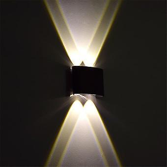 Led-wall Light Outdoor Wodoodporne Nowoczesne Skandynawii Styl Kryty Lampy ścienne