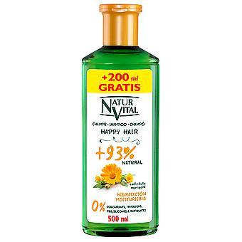 Naturaleza y Vida Happy Hair Champú Hidratante 500 ml